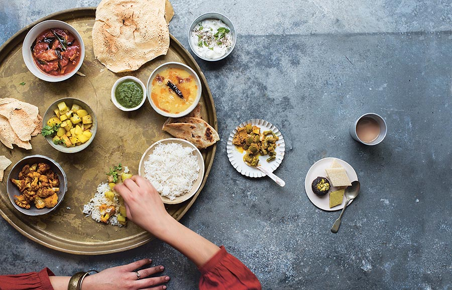 Mallika Basu - A Week for Curry Lovers