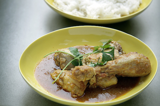 Mallika Basu - Simplest Chicken Curry