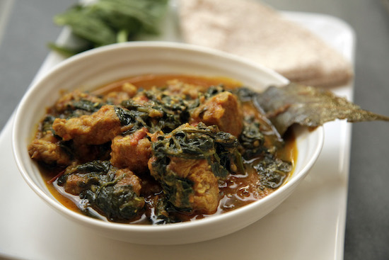 Mallika Basu - Suar Palak Ka Gosht – Pork and Spinach Curry