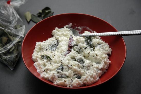 Curd rice 550
