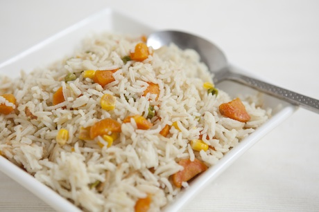Mallika Basu - Simple vegetable pulao