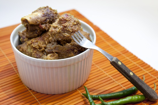 Mallika Basu - Vegetarian Meat Curry – Niramish Mangsho