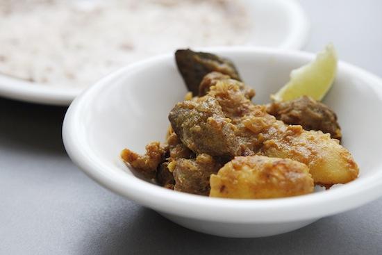 Mallika Basu - Simple meat curry