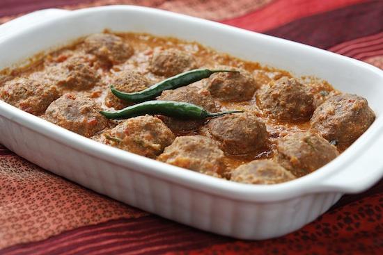 Kofta curry 550