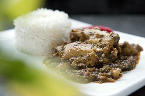Mallika Basu - Andhra-style Methi Chicken Curry