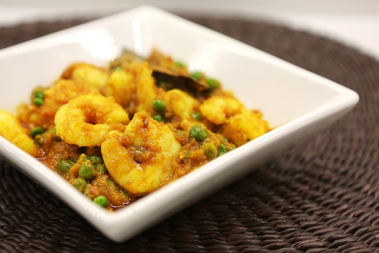 Mallika Basu - Home made Prawn Bhuna