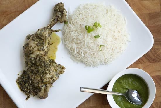 Mallika Basu - Baked Goan Chicken Cafreal
