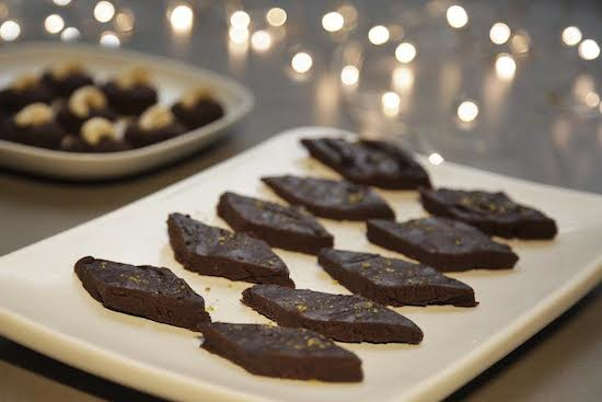 Mallika Basu - Blindingly Simple Chocolate Burfi