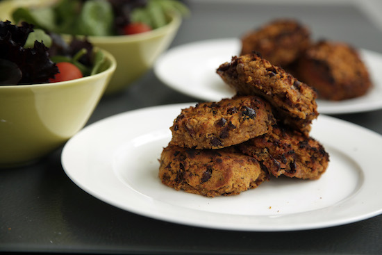 Mallika Basu - Rajma Tikki – Kidney Bean and Sweet Potato Kebabs