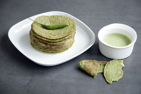 Mallika Basu - Whole Moong Chilla Pancakes