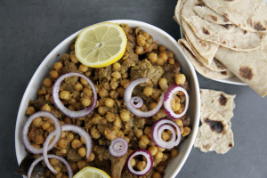 Bhuna Lamb with Chickpeas
