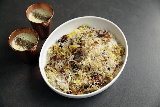 Mallika Basu - Festive Venison Biryani