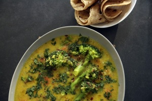 One-pot vegetable dal