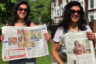 Media love for new cookbook Masala Recipes | Mallika Basu