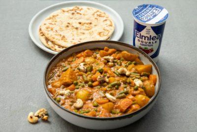 Vegetable Malai Korma with Elmlea Double Recipes | Mallika Basu