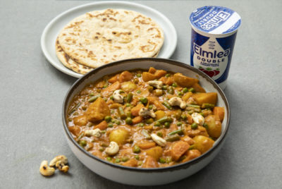 Diwali special: Vegetable Malai Korma with Elmlea Double Recipes | Mallika Basu